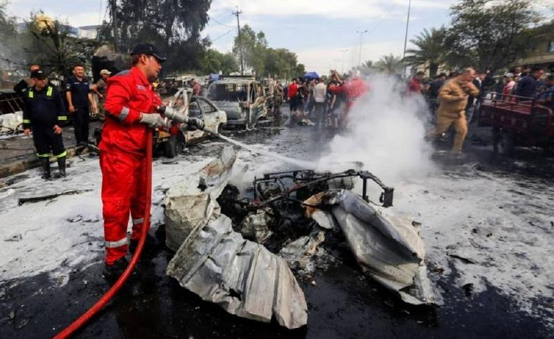 10 قتلى على الأقل بانفجار عبوة ناسفة في سوق في بغداد