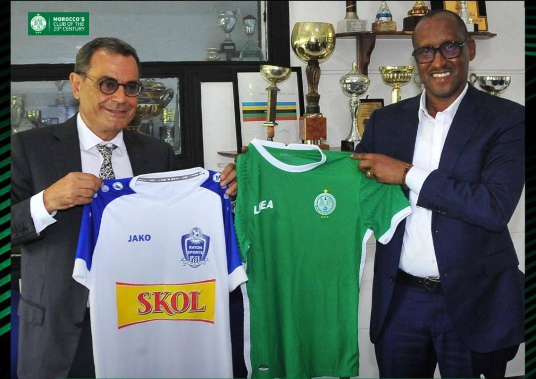 Football: signature d'un partenariat entre le club rwandais Rayon Sports et le Raja de Casablanca