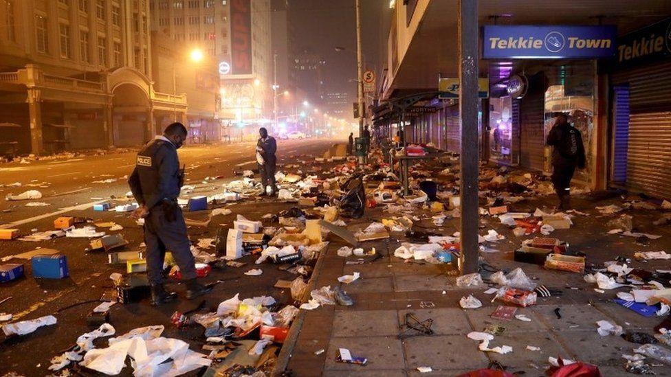 جنوب إفريقيا: ارتفاع حصيلة القتلى جرّاء أعمال العنف إلى 276