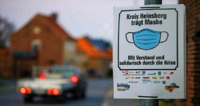 Covid-19: croissance exponentielle des nouveaux cas en Allemagne