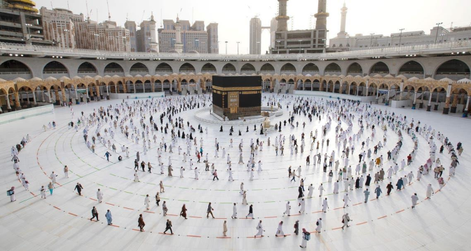 السعودية تعلن نجاح موسم الحج 1442 هـ صحيا دون إصابات بكورونا