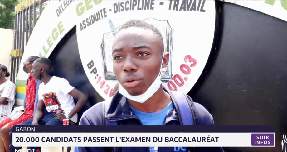Gabon: 20.000 candidats passent l'examen du baccalauréat