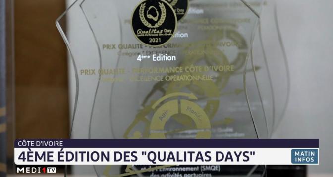 """Côte d'Ivoire: 4e édition des """"Qualitas days"""""""