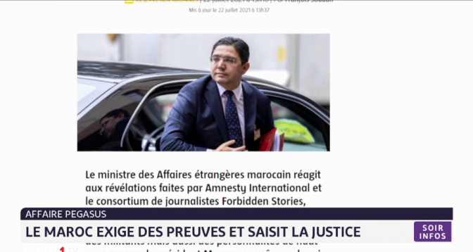 Affaire Pegasus: le Maroc exige des preuves et saisit la justice