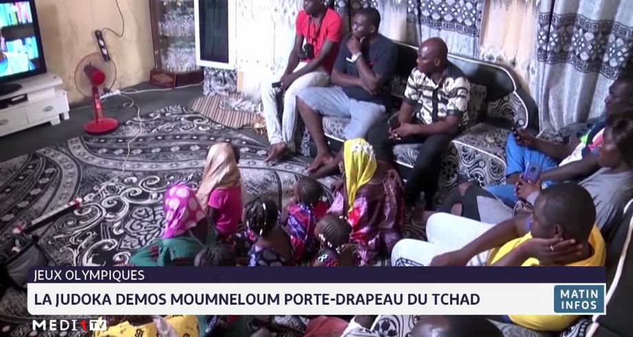 JO de Tokyo: la judoka Demos Memneloum porte-drapeau du Tchad