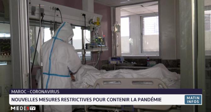 Covid-19 au Maroc: nouvelles mesures restrictives pour contenir la pandémie