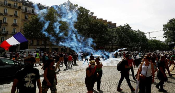 France/Covid: Des manifestations contre l'obligation de la vaccination et l'extension du pass sanitaire