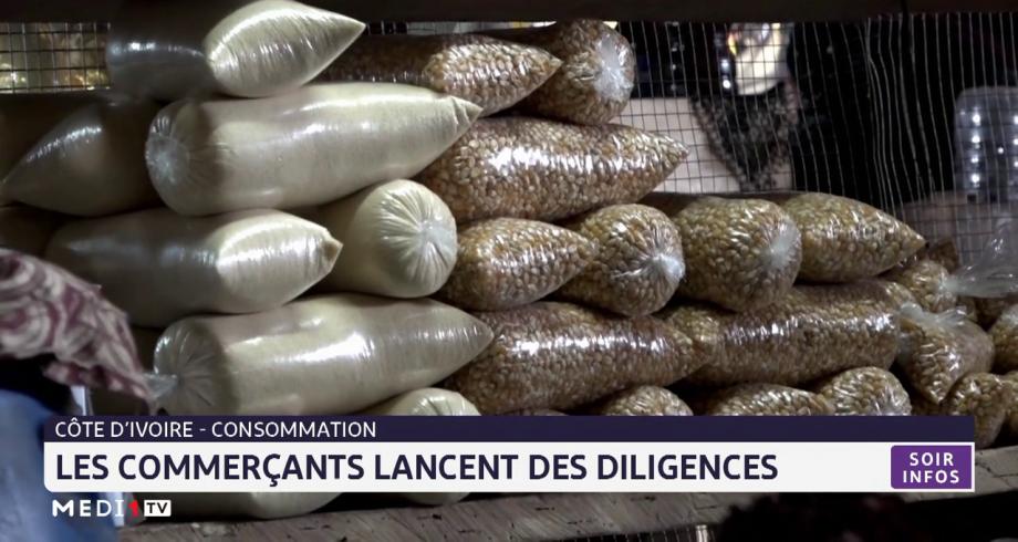 Côte d'Ivoire-consommation: les commerçants lancent les diligences