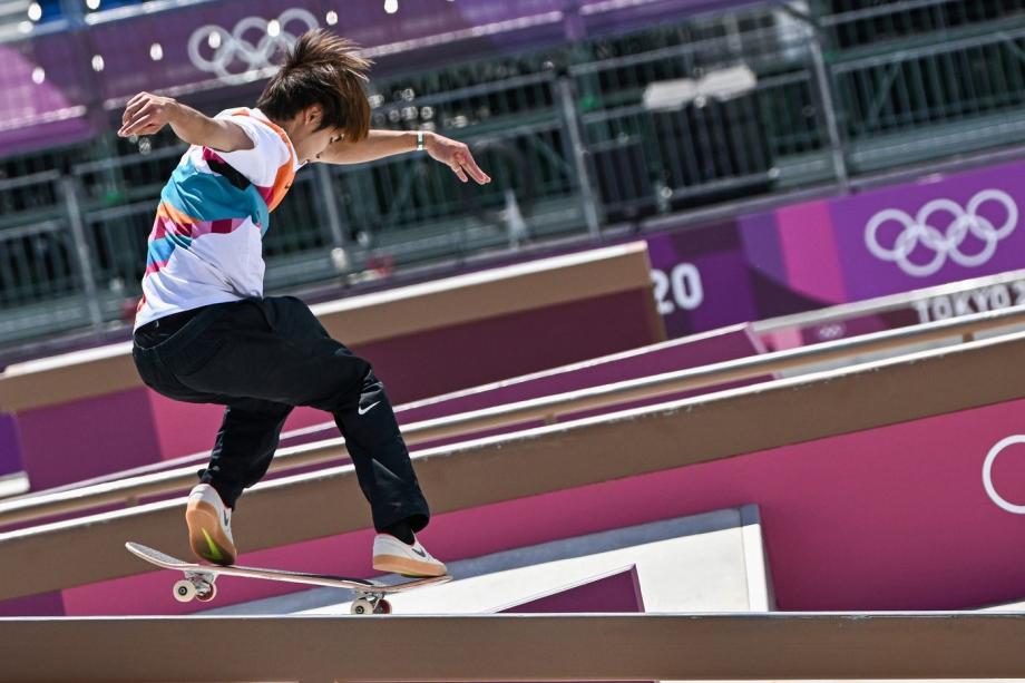 JO-2020: le premier sacre olympique de l'histoire du skateboard pour le Japonais Yuto Horigome