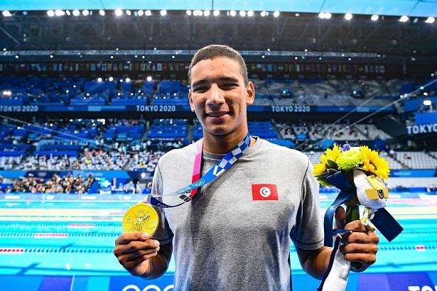 أولمبياد طوكيو .. التونسي أيوب الحفناوي يحرز ذهبية 400م سباحة حرة