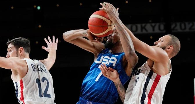 أولمبياد طوكيو-كرة السلة .. هزيمة تاريخية للولايات المتحدة أمام فرنسا
