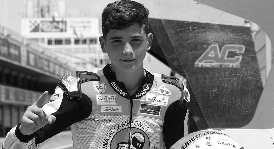 Moto: mort du jeune pilote Hugo Millan dans un grave accident