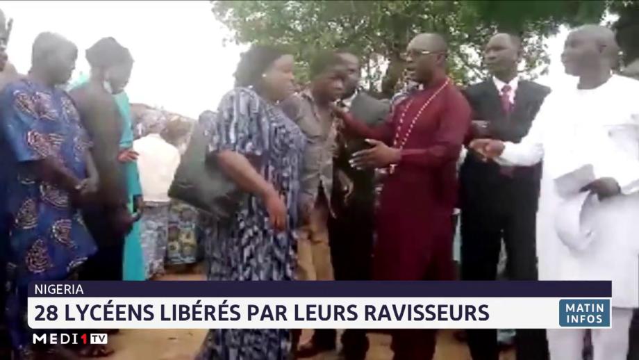 Nigeria: 28 lycéens libérés par leurs ravisseurs