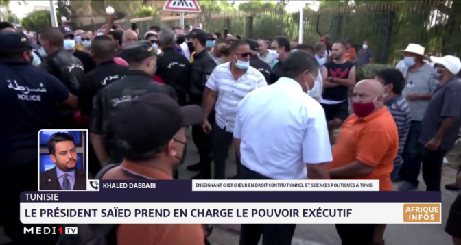 Tunisie: le président Saïed prend en charge l'exécutif. Analyse Khaled Debbabi