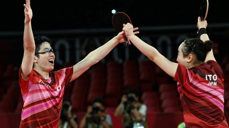 أولمبياد طوكيو: اليابان تفاجىء الصين وتحرز ذهبية تاريخية في كرة الطاولة