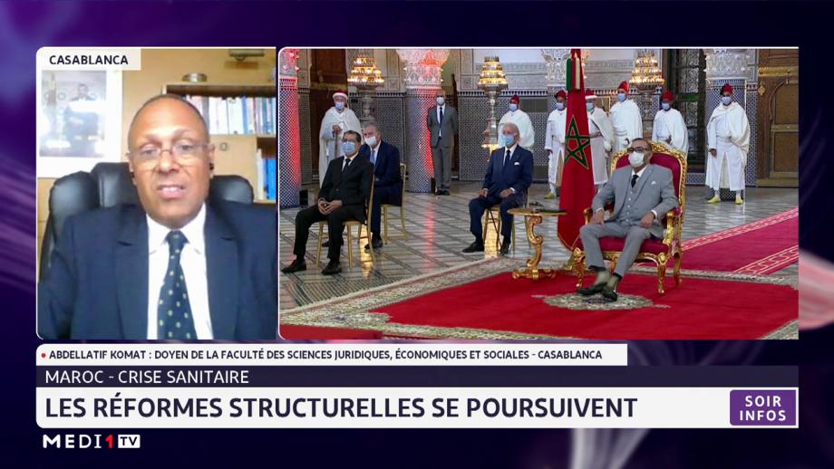 Maroc-crise sanitaire: les réformes structurelles se poursuivent