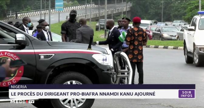 Nigeria: le procès du dirigeant pro-Biafra Nnamdi Kanu ajourné