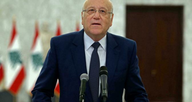 نجيب ميقاتي يبدأ مهمة صعبة لتشكيل حكومة في لبنان
