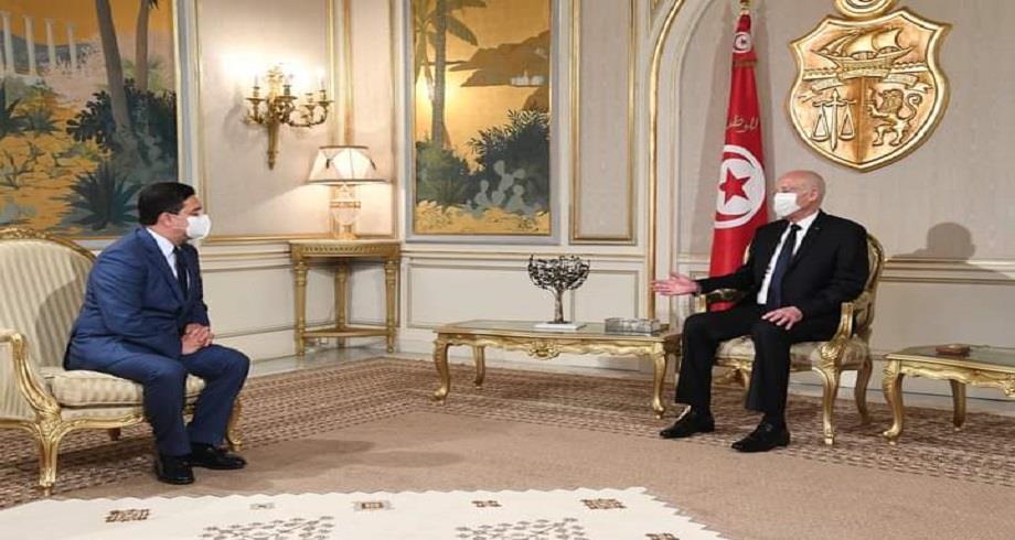 Message du Roi Mohammed VI au Président de la République Tunisienne