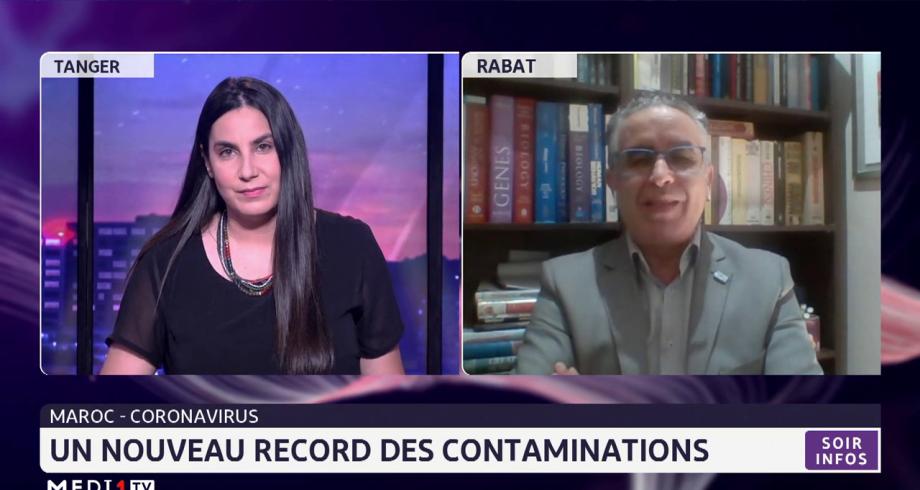 Covid-19: un nouveau record de contaminations au Maroc. Analyse Azeddine Ibrahimi