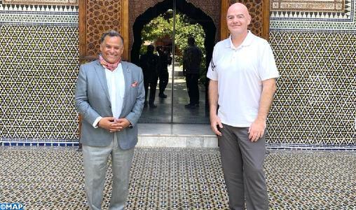 جياني إنفانتينو يزور متحف دار الباشا بمراكش