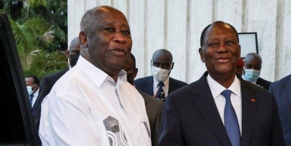 Côte d'Ivoire: rencontre cordiale entre Alassane Ouattara et Laurent Gbagbo