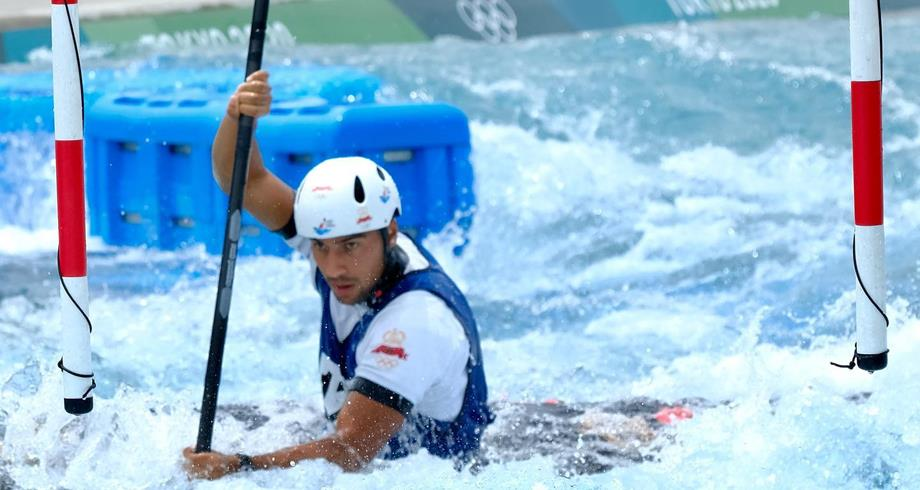 أولمبياد طوكيو (قوارب الكاياك): تأهل المغربي ماثيس سودي إلى نصف نهاية سباق المنعرجات