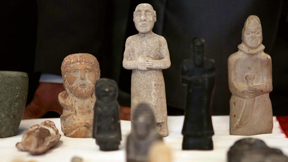 Les Etats-Unis restituent à l'Irak un immense trésor de 17.000 pièces archéologiques
