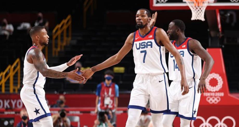 أولمبياد طوكيو .. منتخب الولايات المتحدة لكرة السلة يكتسح نظيره الإيراني (120- 66)