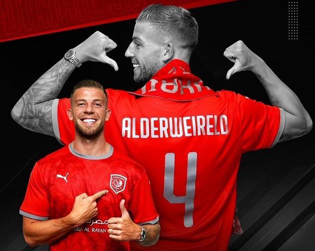 الدحيل يتعاقد رسميا مع اللاعب الدولي البلجيكي ألدرفيريلد