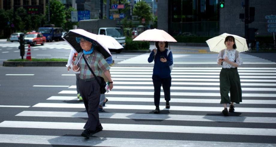مصرع 23 شخصا خلال أسبوع في اليابان بسبب موجة الحر