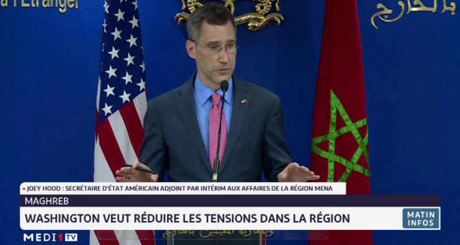 Maghreb: Washington veut réduire les tensions dans la région