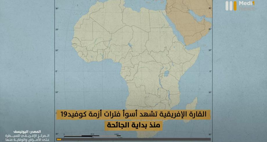 #إفريقيا تمر بأسوأ فترات أزمة #كوفيد19 منذ بداية الجائحة