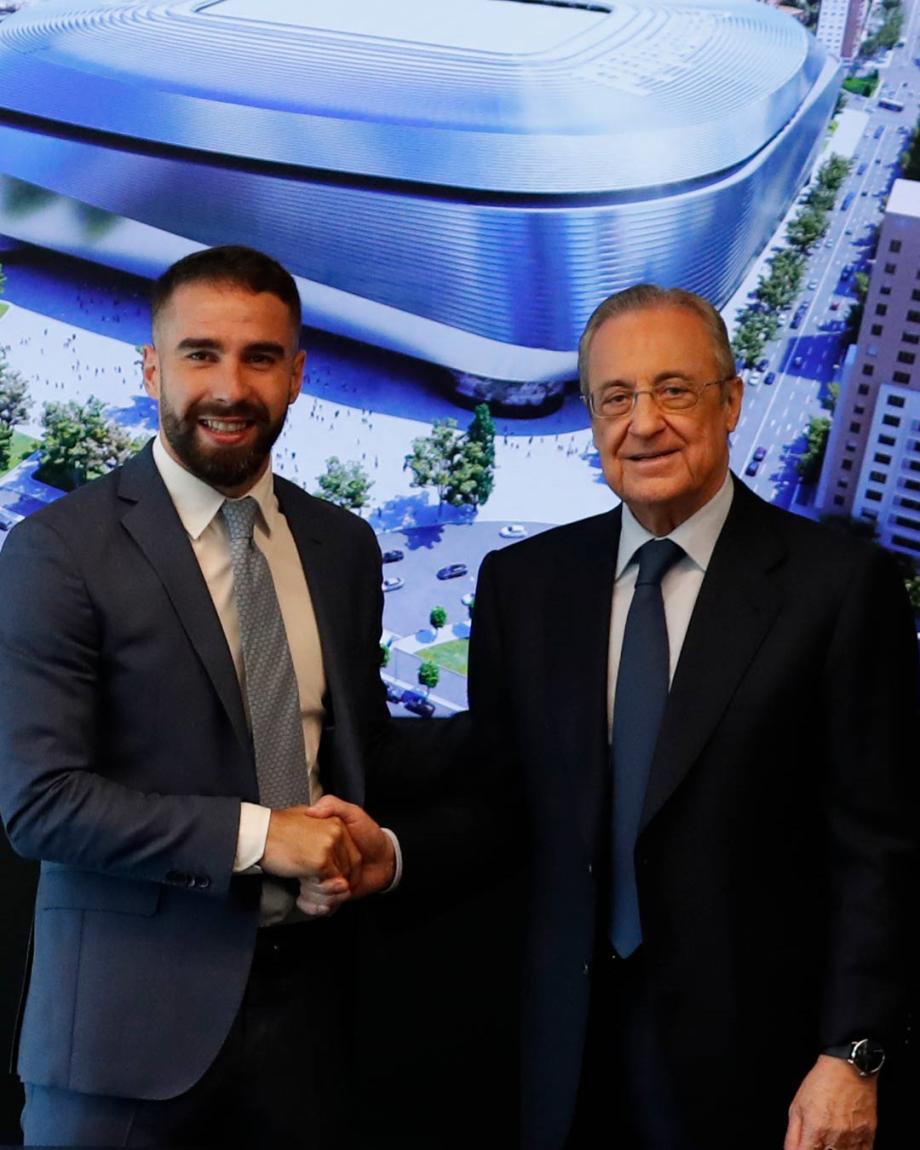 Real Madrid: Carvajal prolonge jusqu'en 2025
