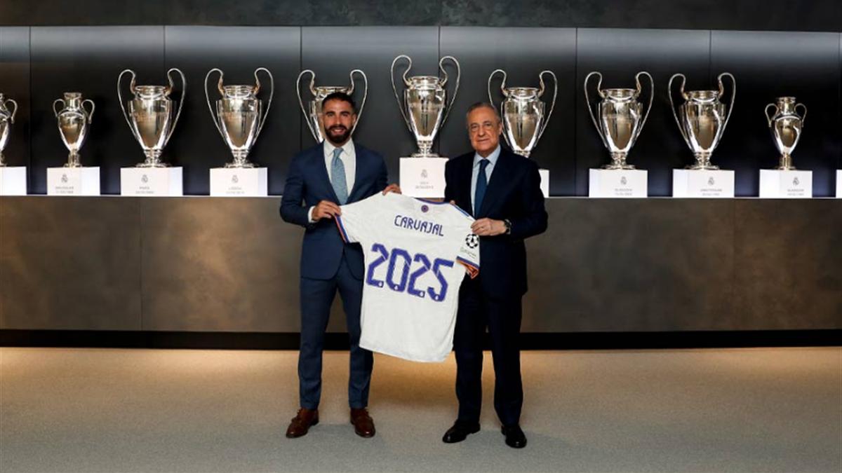 كارفاخال يمدد عقده مع ريال مدريد حتّى 2025