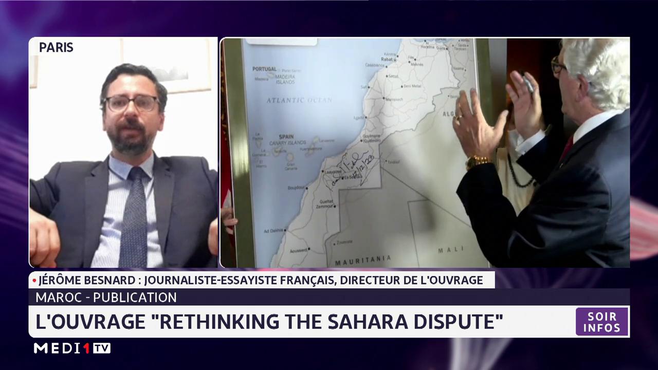 """Zoom sur l'ouvrage """"Rethinking the Sahara dispute"""" avec Jérôme Besnard"""