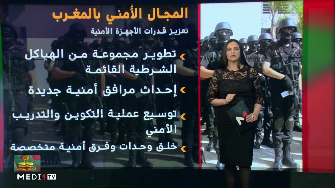 شاشة تفاعلية...المغرب في مصاف الدول الأكثر أمنا في العالم