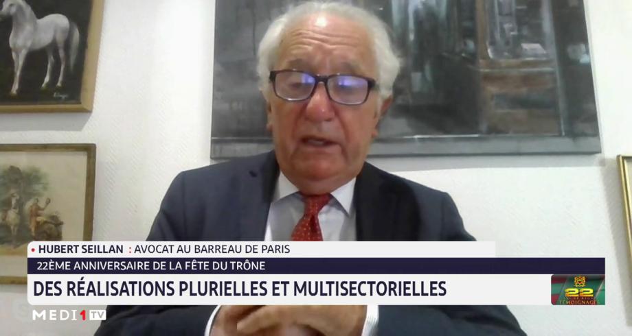 Hubert Seillan analyse l'évolution diplomatique que connait le Maroc