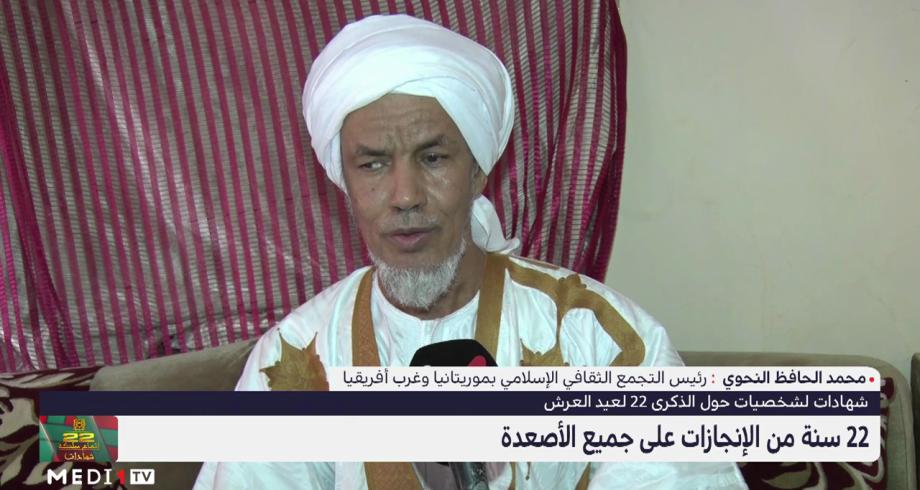 محمد الحافظ النحوي: المغرب ساهم في توطيد العلاقات بين الشعوب