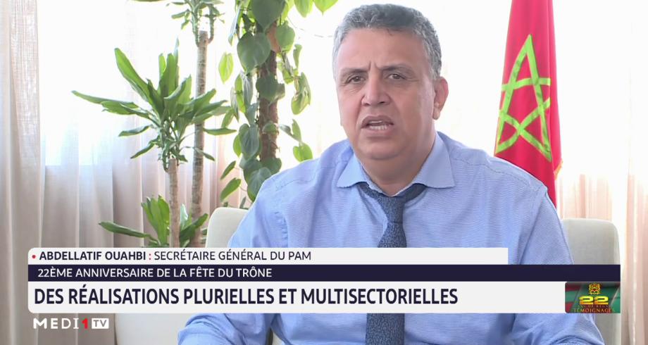 Abdellatif Ouahbi: la mobilisation du Roi et du peuple a permis au Maroc de relever plusieurs défis