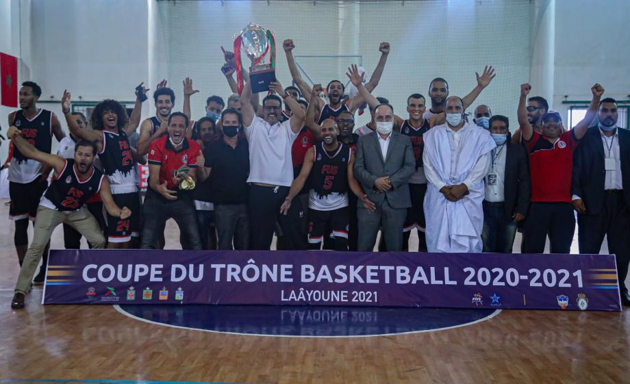 Finale de la Coupe du Trône de basketball : le FUS Rabat remporte le titre face au Kawkab Marrakech