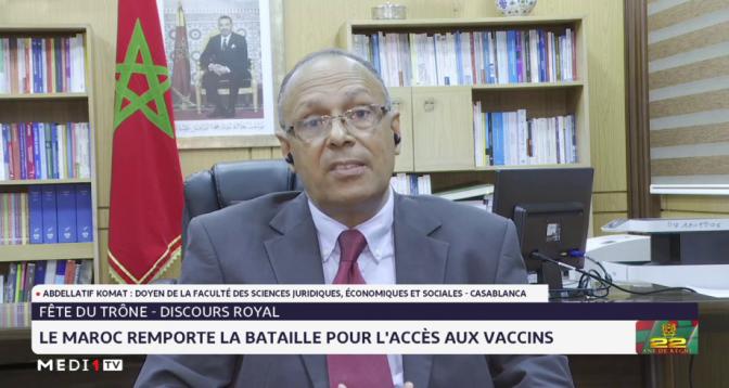 Abdellatif Komat revient sur la riposte royale face à la crise sanitaire