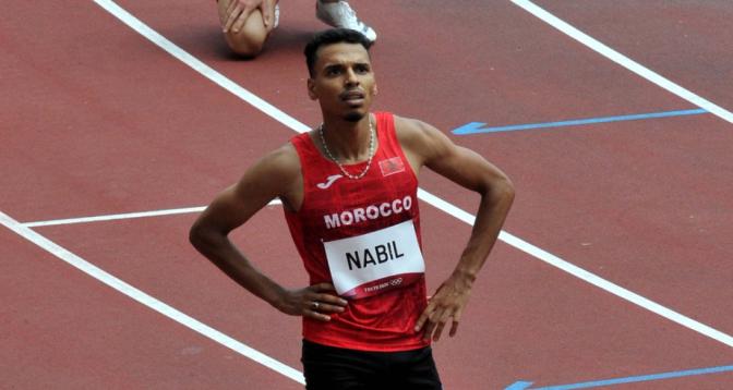 أولمبياد طوكيو .. إقصاء المغربيين عبد العاطي الكص ونبيل أسامة في نصف نهاية سباق 800م