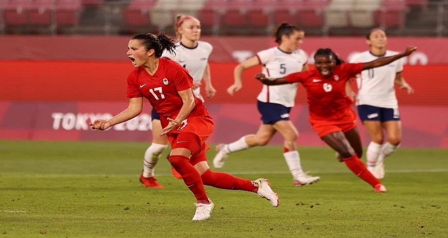 JO-2020/Foot: les Américaines éliminées en demi-finales par les Canadiennes