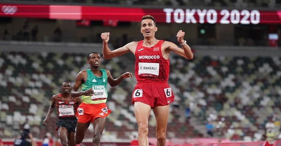 """""""لوبوان"""": البقالي وضع حدا لهيمنة الكينيين على سباق 3000 متر موانع"""