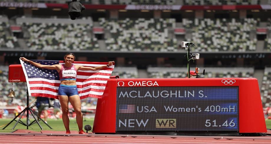 JO-2020: l'Américaine McLaughlin championne olympique du 400 m haies