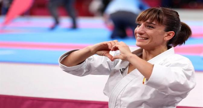 طوكيو 2020...الإسبانية ساندرا سانشيس خايمي أول بطلة أولمبية لرياضة الكاراتيه في التاريخ