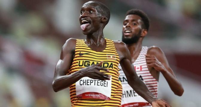 الأوغندي جوشوا يحرز ذهبية 5 آلاف م في أولمبياد طوكيو