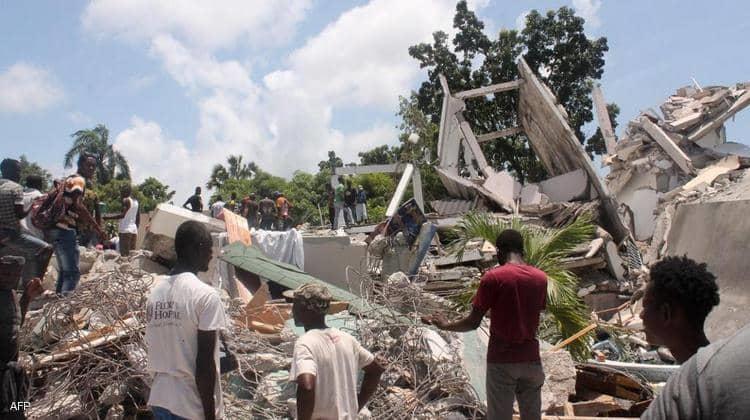ارتفاع حصيلة ضحايا زلزال هايتي إلى 2189 قتيلا