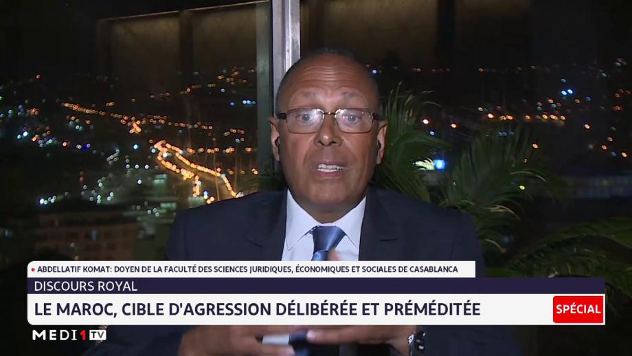 Abdellatif Komat: certaines puissances économiques craignent l'émergence du Maroc